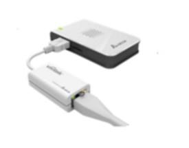 Vivitek NVK-VE01 cable interface/gender adapter RJ45 USB 2.0 A White