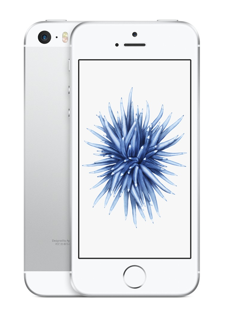 Apple iPhone SE Single SIM 4G 16GB Silver,White smartphone