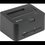 Sharkoon QuickPort Combo USB3.0 Black