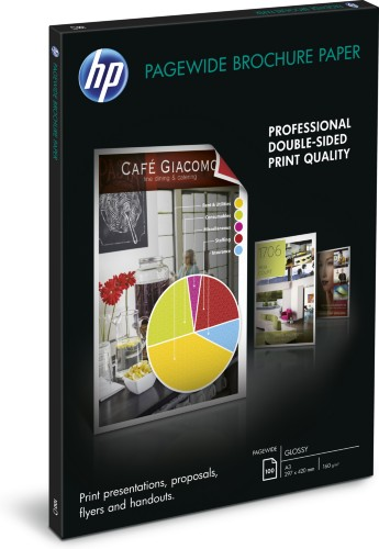HP PageWide Glossy Brochure Paper-100 sht/A3/297 x 420 mm