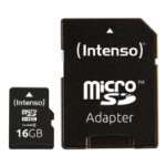 Intenso 16GB MicroSDHC memory card Class 10