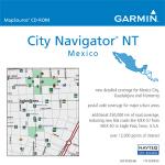 Garmin City Navigator  Mexico NT