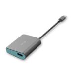 i-tec Metal C31METALHUB interface hub USB 3.2 Gen 1 (3.1 Gen 1) Type-C 5000 Mbit/s Grijs, Turkoois