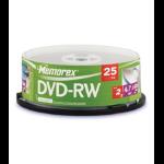 Memorex 2X DVD-RW 25 Pack Cakebox 4.7GB 25pc(s)