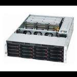 Supermicro SuperChassis 837E26-RJBOD1 Rack 1620W Black computer case