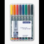 Staedtler 316 WP8 marker 1 pc(s) Black, Blue, Brown, Green, Orange, Red, Violet, Yellow