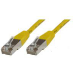 Microconnect 10M Cat5e RJ-45 to RJ-45 M/M 10m Yellow networking cable