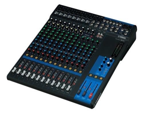 Yamaha MG16 Mix and production Analog 16channels 20 - 48000Hz Black