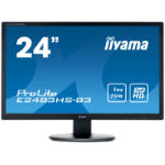"iiyama ProLite E2483HS-B3 LED display 61 cm (24"") Full HD Flat Matt Black"