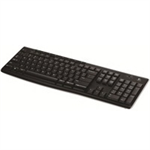 Logitech K270 keyboard RF Wireless QWERTY English Black