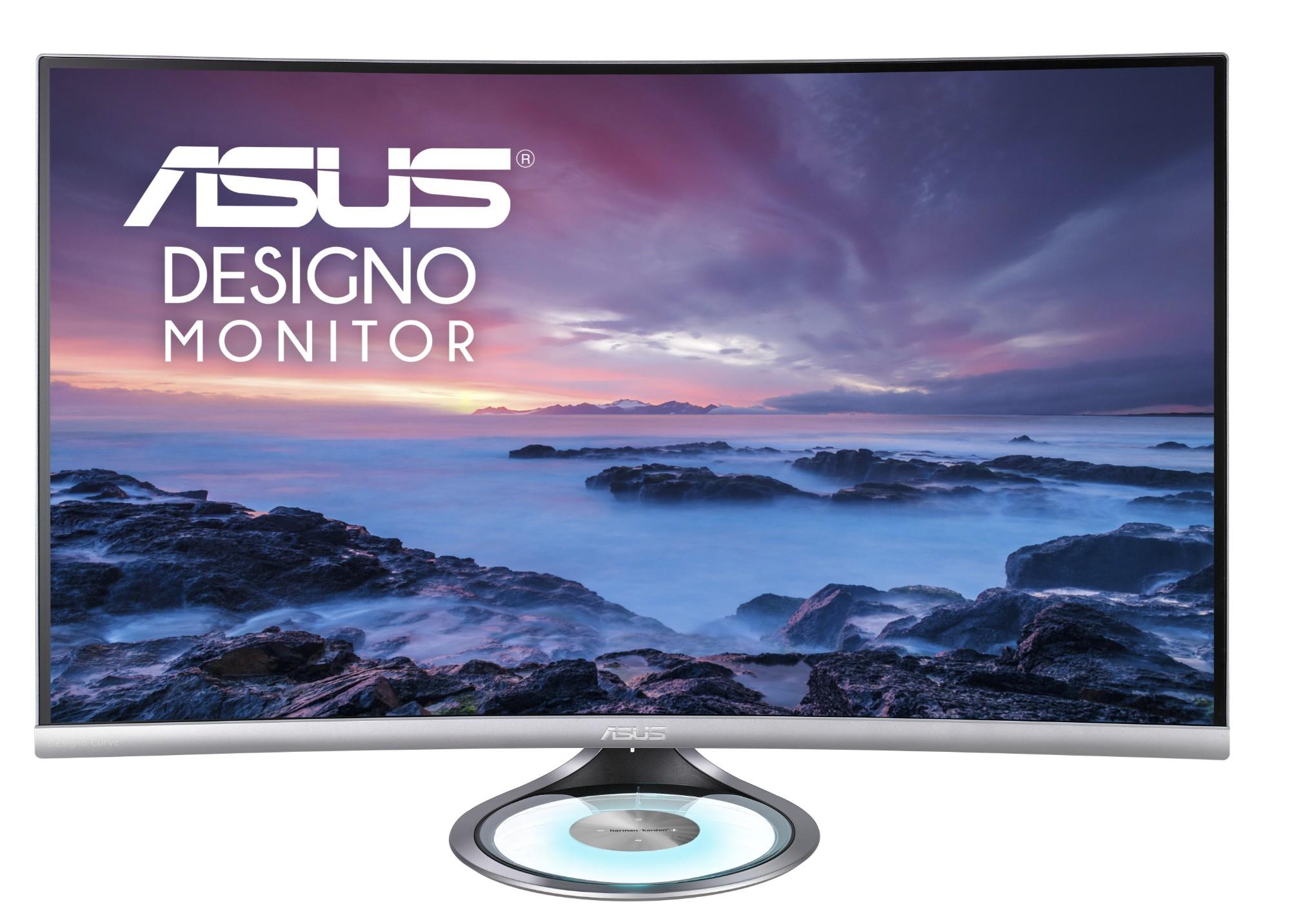 """ASUS Designo MX32VQ 80 cm (31.5"""") 2560 x 1440 Pixeles Wide Quad HD LED Negro, Gris"""