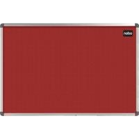 Nobo Classic Felt Noticeboard Red 900x600mm