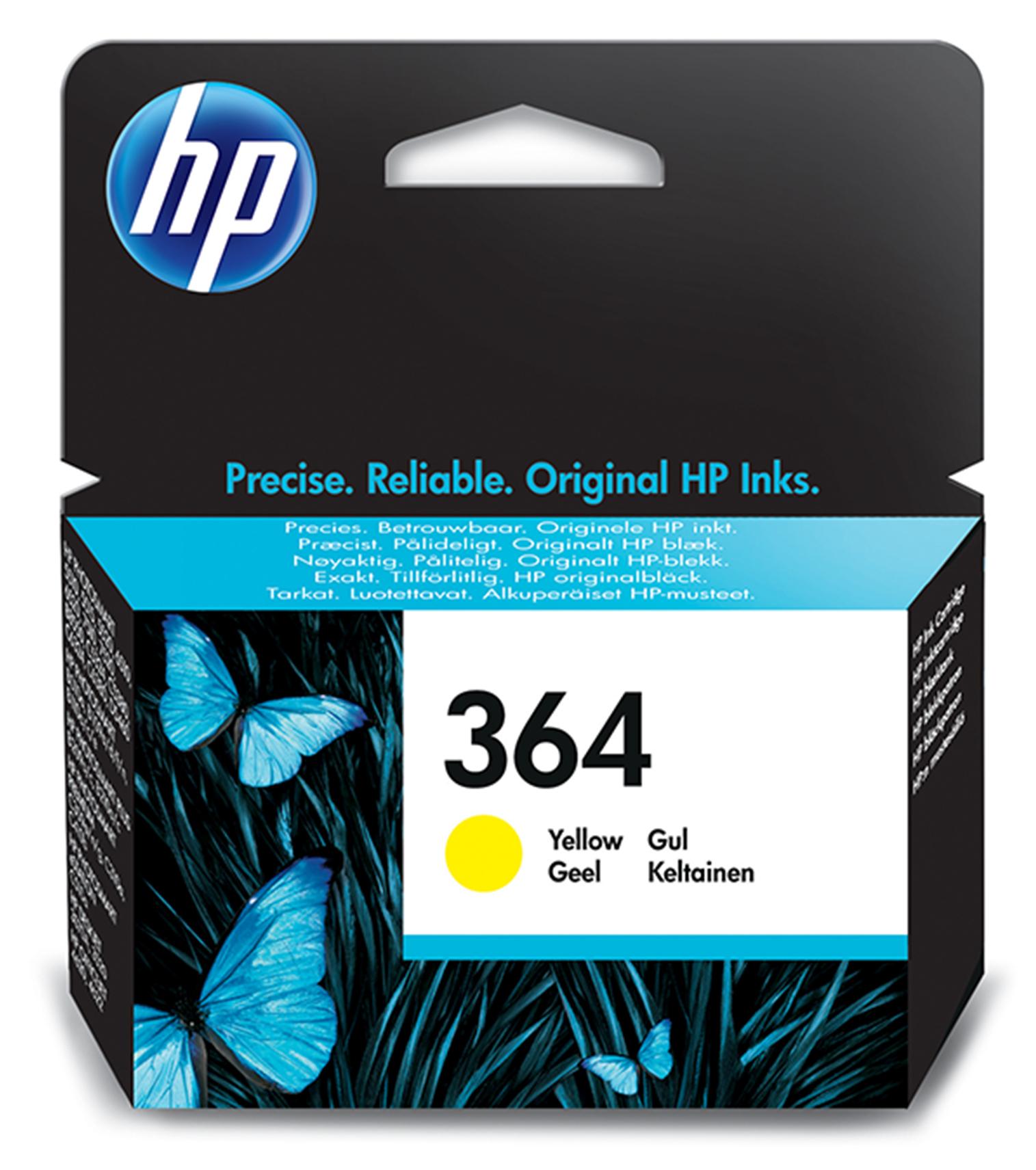 HP 364 Original Amarillo 1 pieza(s)