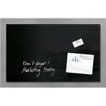 Sigel GL130 Glass Black magnetic board
