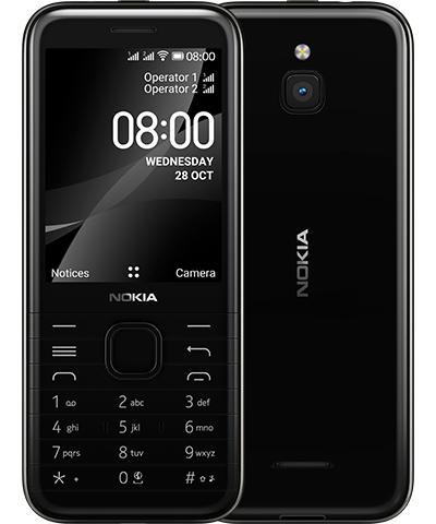 Nokia 8000 4G 7.11 cm (2.8