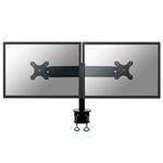 "Newstar FPMA-D700 30"" Black flat panel desk mount"