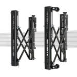 B-Tech System X Universal Pop-Out Interface Arms With Micro-Adjustment - VESA 400