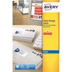Avery J5103-25 White 250pc(s) self-adhesive label