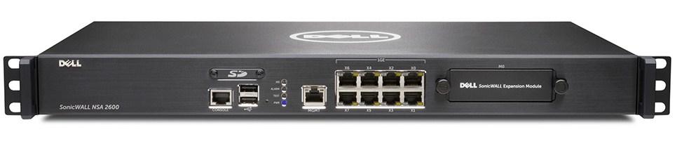 DELL SonicWALL 01-SSC-3863 firewall (hardware)