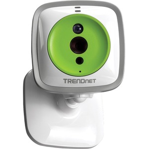TRENDnet TV-IP743SIC Cloud Baby Cam, IP/Network/Wireless, Compatible with MAC iphone/Windows and Android