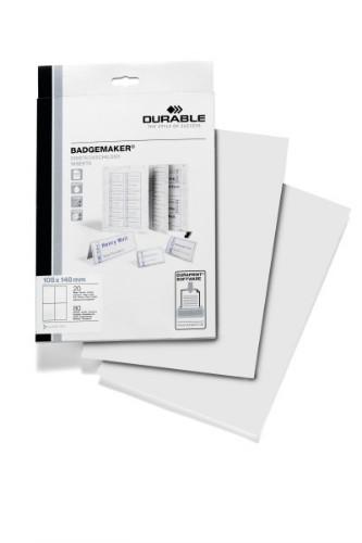 Durable 142002 printer label