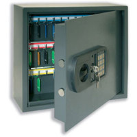 Helix HIGH SECURITY KEY SAFE 30 KEY GREY