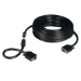 Tripp Lite VGA Coax Easy Pull Monitor Cable, High Resolution Cable with RGB Coax (HD15 M/M), 50-ft.