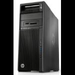 HP Z640 Intel® Xeon® E5 v4 E5-2650V4 32 GB DDR4-SDRAM 512 GB SSD Tower Black Workstation Windows 7 Professional