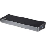 StarTech.com Triple Monitor 4K USB-C Dock with 5x USB 3.0 Ports