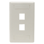 Black Box WPT462 wall plate/switch cover White