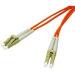 C2G 1m LC/LC LSZH Duplex 62.5/125 Multimode Fibre Patch Cable cable de fibra optica Naranja
