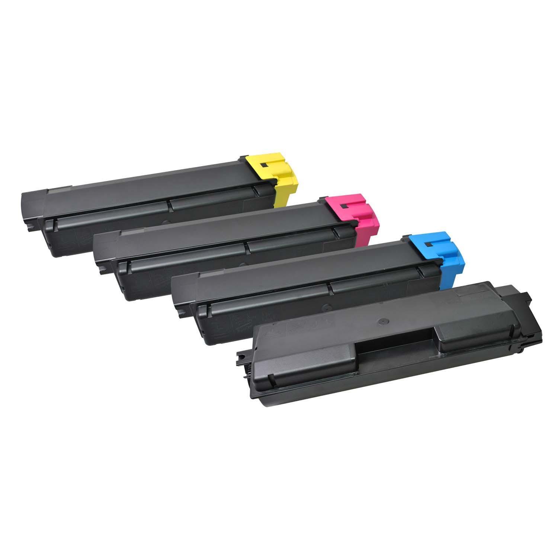 V7 Láser de tóner para ciertas impresoras Kyocera TK-580K/C/M/Y