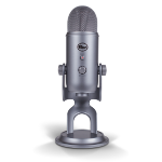 Blue Microphones Yeti Silver Table microphone