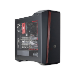 Cooler Master MasterBox 5t Midi-Tower Black,Red computer case