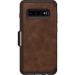 OtterBox Strada Folio Series para Samsung Galaxy S10+, Espresso