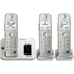 Panasonic KX-TGE263S DECT Caller ID Silver telephone