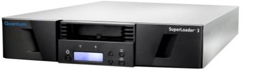 Quantum SuperLoader 3 LTO-7HH tape auto loader/library 98304 GB 2U Black