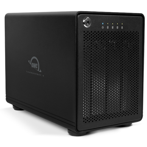 "OWC ThunderBay 4 HDD/SSD enclosure 2.5/3.5"" Black"