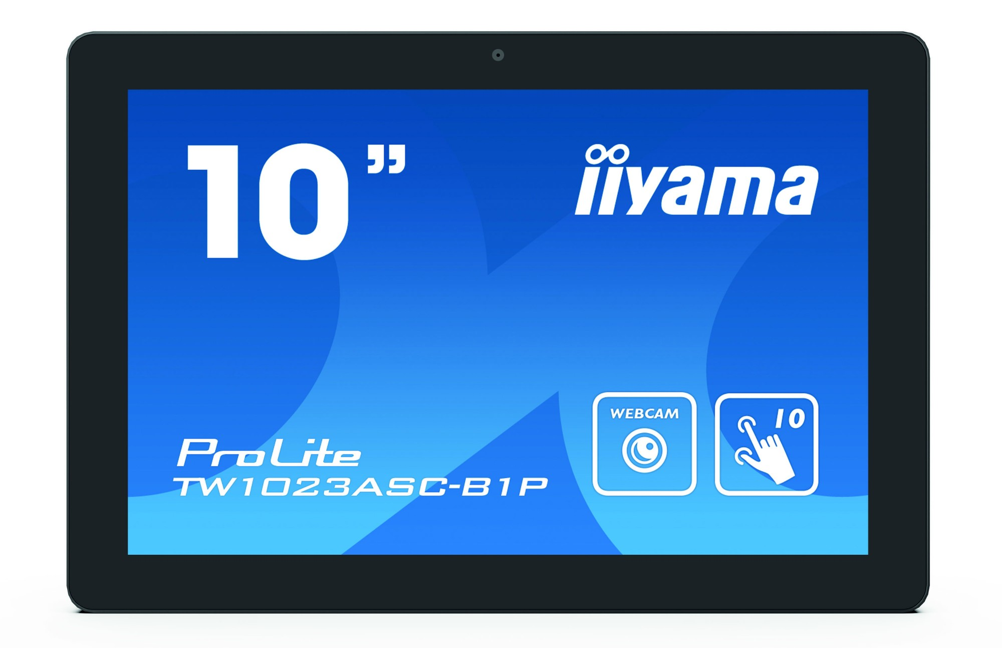 "iiyama ProLite TW1023ASC-B1P touch screen monitor 25.6 cm (10.1"") 1280 x 800 pixels Multi-touch Multi-user Black"