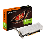 Gigabyte GTX1030, 2 GB, 4096x2160, DVI x 1, HDMI-2.0b x 1, Low Profile