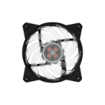 Cooler Master MasterFan Pro 120 Air Balance RGB Computer case Fan Black,Transparent
