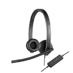 Logitech H570e Binaural Head-band Black
