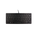 R-Go Tools Compact Keyboard, QWERTY (US), black, wired