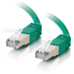 C2G Cat5E STP 10m networking cable U/FTP (STP) Green