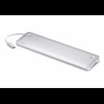 Aten UH3234 notebook dock/port replicator Wired USB 3.2 Gen 1 (3.1 Gen 1) Type-C Silver