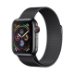 Apple Watch Series 4 reloj inteligente Negro OLED Móvil GPS (satélite)