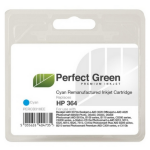 Perfect Green CB318EECOMP 5ml Cyan ink cartridgeZZZZZ], CB318EECOMP