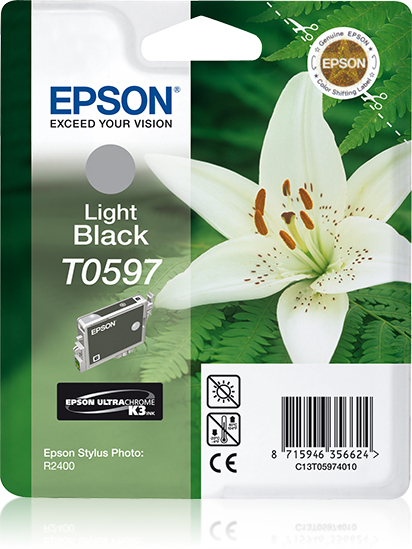 Epson Lily Cartucho T0597 gris