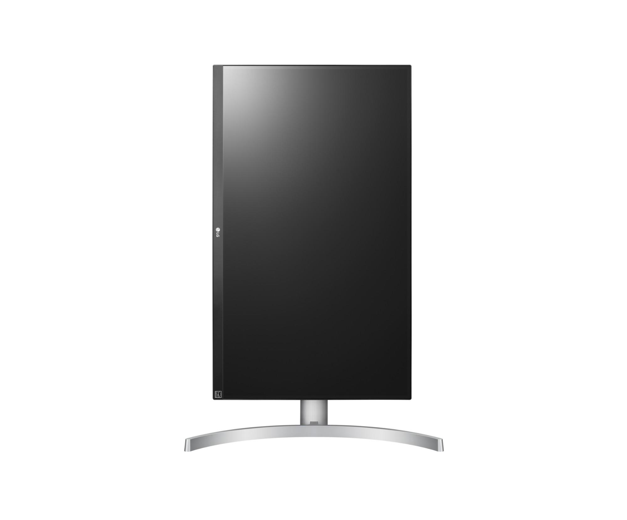 Lg 27uk650 W 27 4k Ultra Hd Led Flat Black Silver White Computer Monitor Full Gaming 24 Inch 24gm79g B Enlarge