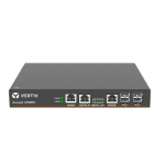 Vertiv 2-Port ACS800 Serial Console with analog modem, external AC/DC Power Brick - Global Datacenter PDU Power Cord